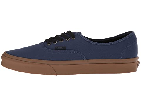 goma Denim Negro Dark de Vans Suela Authentic XwfyqpRRt4