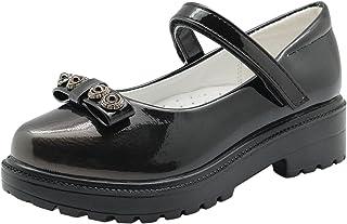 Ying-xinguang Kid's Shoe Casual Children's Girl's Flats Sandals Oxford Dress Shoe (Little Kid) Comfortable