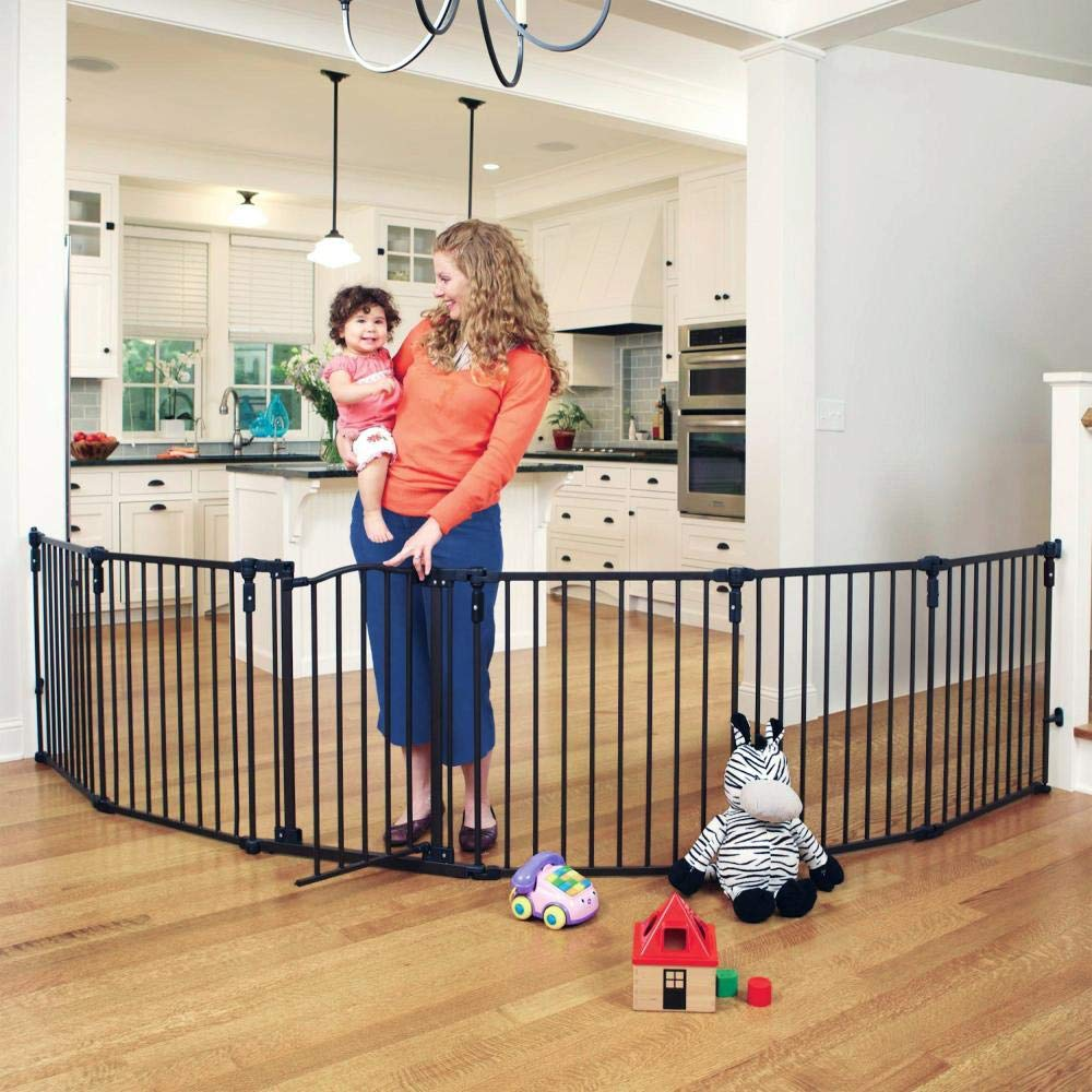 Toddleroo by North States 3 in 1 Arched Décor Metal Superyard: 144