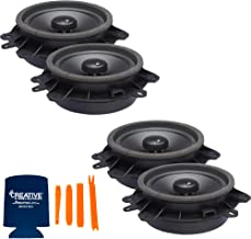 $199 » Sponsored Ad - PowerBass OE Series Direct Replacement Coaxial Speakers Compatible with Toyota Prius 01-03