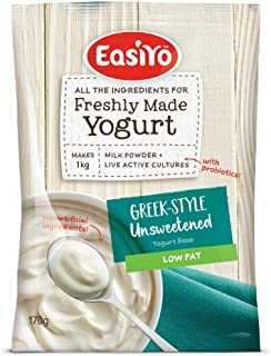 Easiyo Low Fat Greek Yogurt Base and Culture, 6-Ounce
