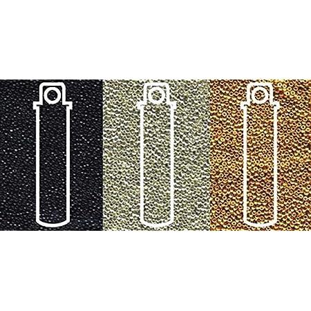 20 Grams Japanese Miyuki 110 Seed Beads 2mm 11-0190 Steel Metallic