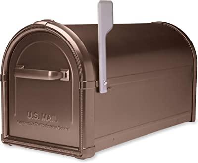 Architectural Mailboxes 5593C-CG-10 Hillsborough Wallmount Mailbox, Medium, Copper