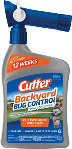 Cutter Backyard Bug Control 32 oz Ready-to-Spray Hose End Insect Repellent Concentrate HG-61067