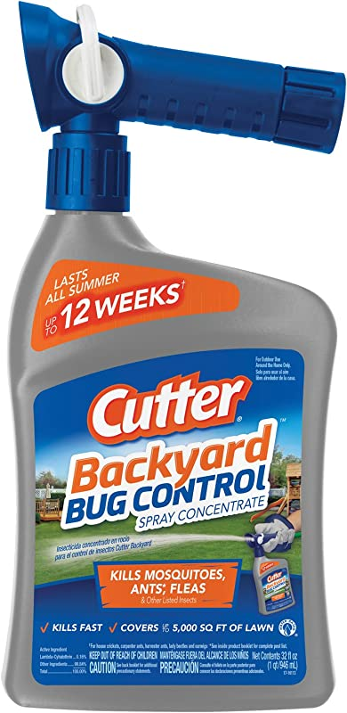 Cutter Backyard Bug Control Spray Concentrate 32 Ounce