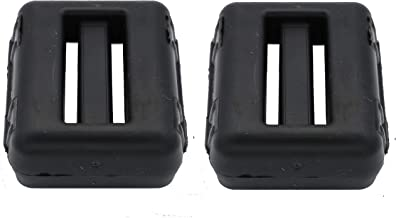 Fonderia Roma, Duikgewicht, kunststof coating, zwart, 1 kg, 2 stuks