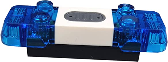 LEGO Blauw licht onderdeel elektrisch reserveonderdeel licht en geluid sirene 2x6x1