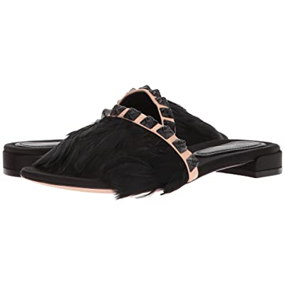 Stuart Weitzman Lando (Black Silk Satin) Women