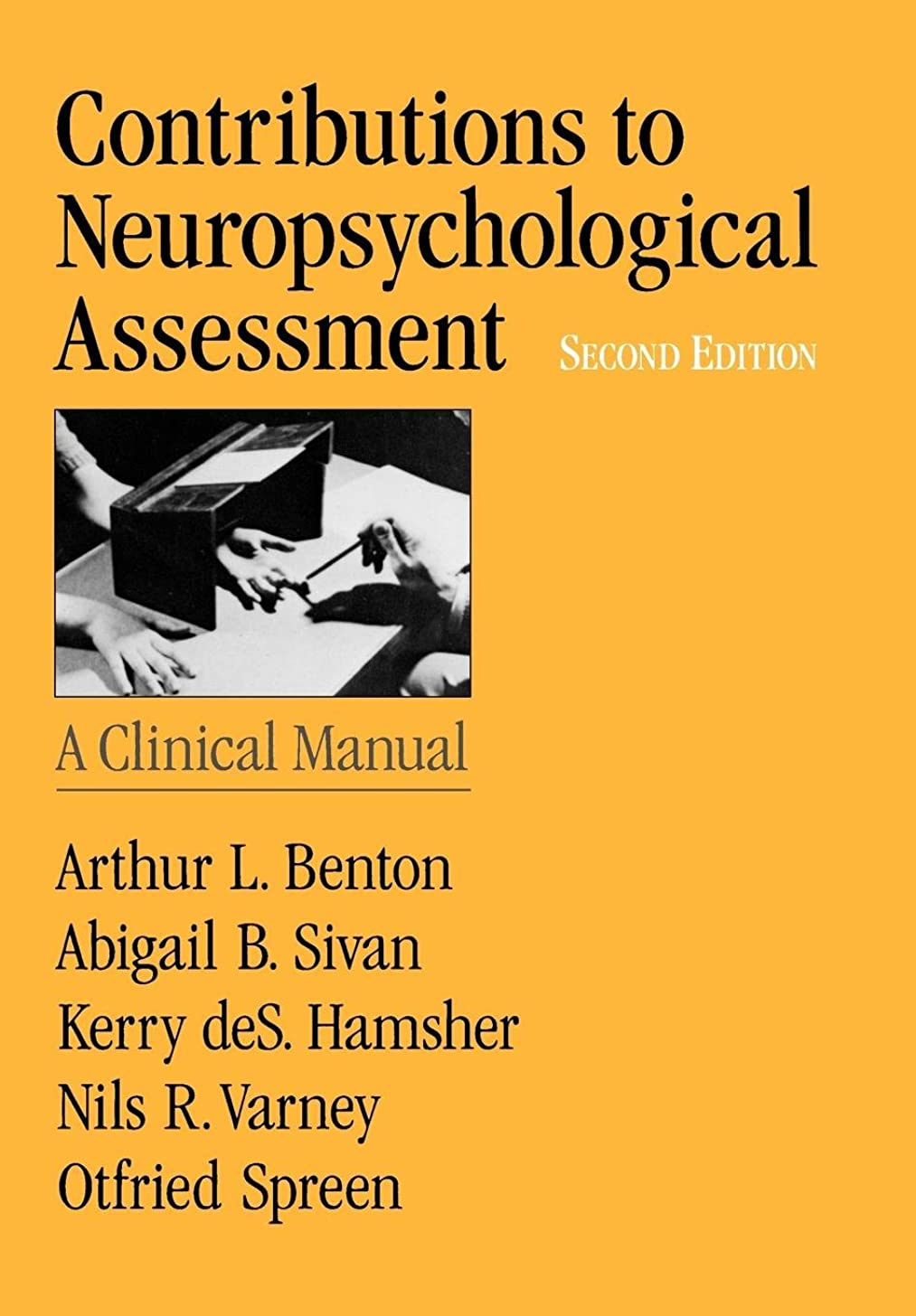 ゆり改善唯一Contributions to Neuropsychological Assessment: A Clinical Manual