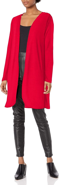 Star Vixen Women's Long Sleeve Open Front Cardigan