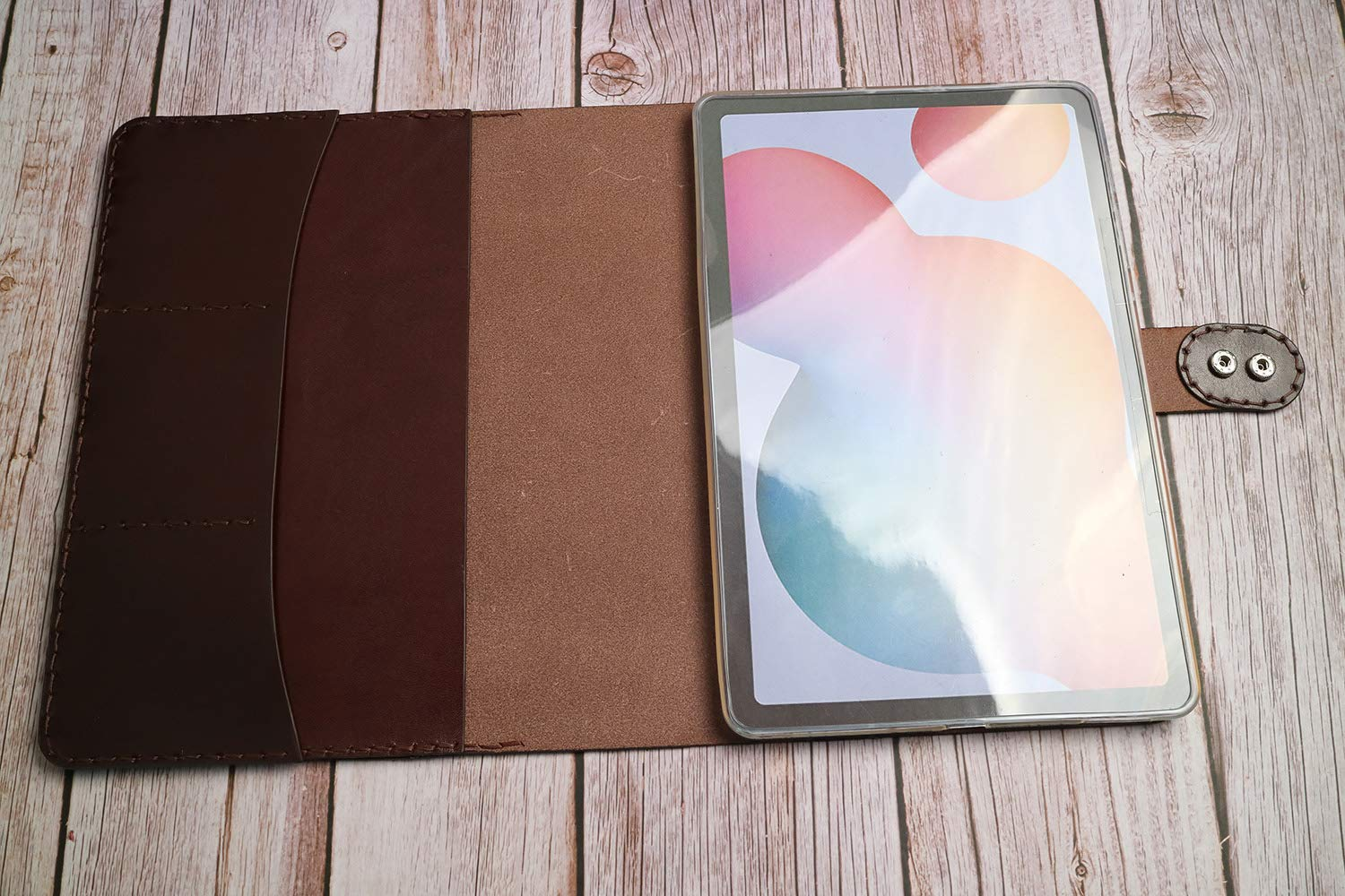 Hand Translated Stitched iPad Air 10.5 2019 Handmade Super sale period limited Case Leather 9 Cover