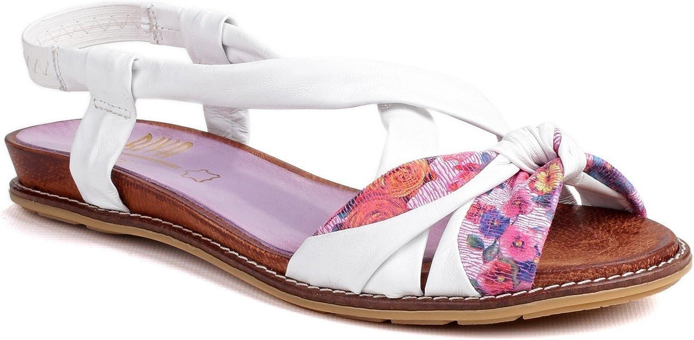 Riva kvinnor Adore läder vit Multi Multi Multi Storlek UK 5 EU 38  onlinebutik