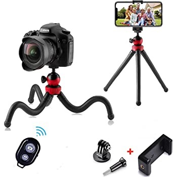 for Digital Cameras and Camcorders Approx Height 13 inches Sony Cyber-Shot DSC-RX100 III Digital Camera Tripod Flexible Tripod