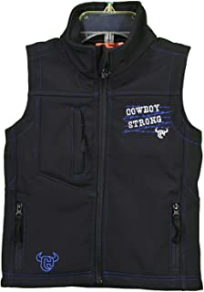 Cowboy Hardware Toddler-Boys Strong Poly Shell Vest - 787103-010