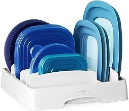 YouCopia 50083 Storalid Food Container Lid Organizer, Medium, White