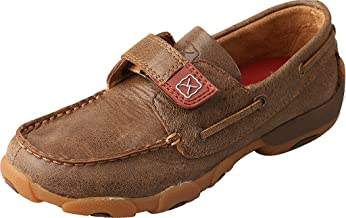 Twisted X Unisex Driving Moc Boat Shoe (Toddler/Little Kid)