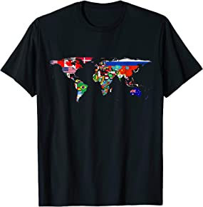International Flags T-shirts
