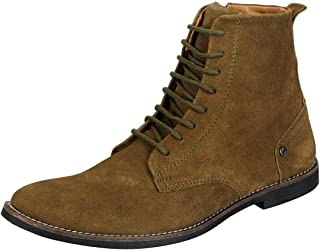 FAUSTO Men's Suede Leather Boots