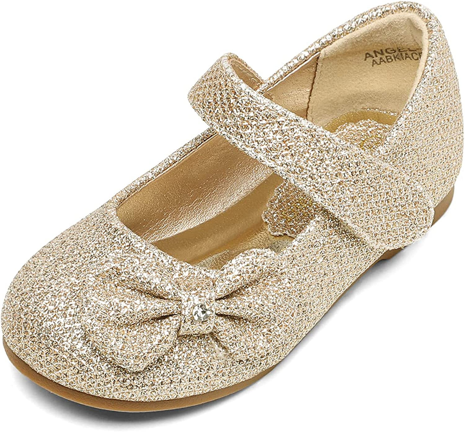 DREAM PAIRS Adorable Mary Jane Side Strap Finally resale start Ballerina Bow Buckle F online shop