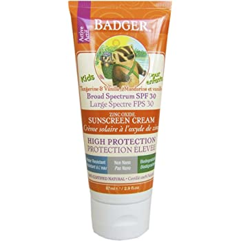 Badger Sunstech creen Creams 30 Kids – Protección Solar Crema, 1er ...
