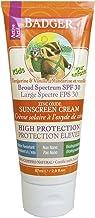 Badger Sunstech creen Creams 30Kids–Protección Solar Crema, 1er Pack (1x 87g)
