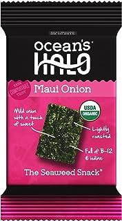 Ocean's Halo Seaweed Maui Onion 1 case of 12 units