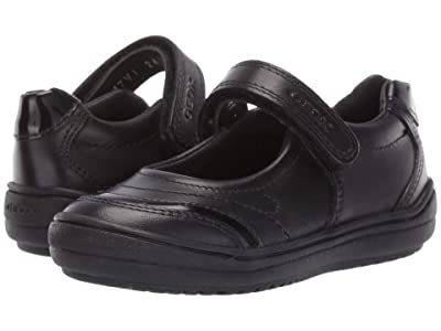 Geox Kids Jr Hadriel 16 (Toddler) (Black Oxford) Girls Shoes