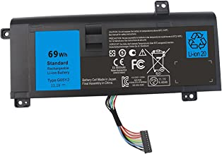 Gomarty G05YJ Laptop Battery for Dell Alienware 14 A14 M14x R3 R4 14D-1528 ALW14D ALW14D-1528 ALW14D-1828 ALW14D-4528 ALW14D-5528 0G05YJ Y3PN0 8X70T - 1 Year Warranty
