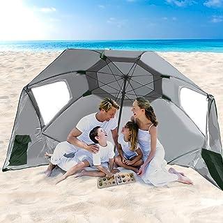 Beach Umbrella Outdoor Umbrellas Garden Sun Shade Shelter Weather Patio Cover 2M
