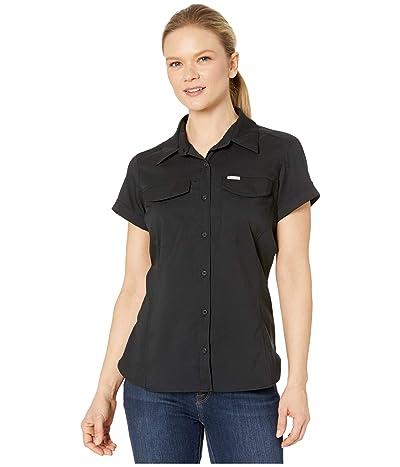 Columbia Silver Ridgetm Lite Short Sleeve Shirt (Black) Women