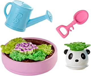 Barbie Accessory Pack, 4 Pieces, with Planter and Succulent Accessories