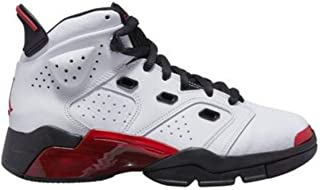 Jordan Boys' Little Kids 6-17-23 (PS) 428819-100 White/Gym Red-Black
