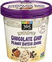 365 Everyday Value, Almondmilk Chocolate Chip Peanut Butter Swirl Non-Dairy Dessert, 16 Oz (Frozen)