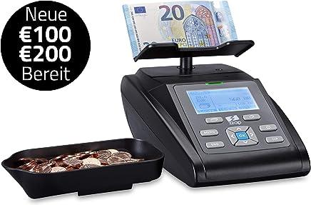 Pack Integral Geldz/ählmaschine + Sortiermaschine-teilig + 3/Filzstifte Geldscheinpr/üfer Bietet Special Premium/_BD