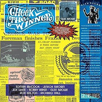 Glen Brown: Check The Winner - The Original Pantomine Instrumental Collection 1970-74