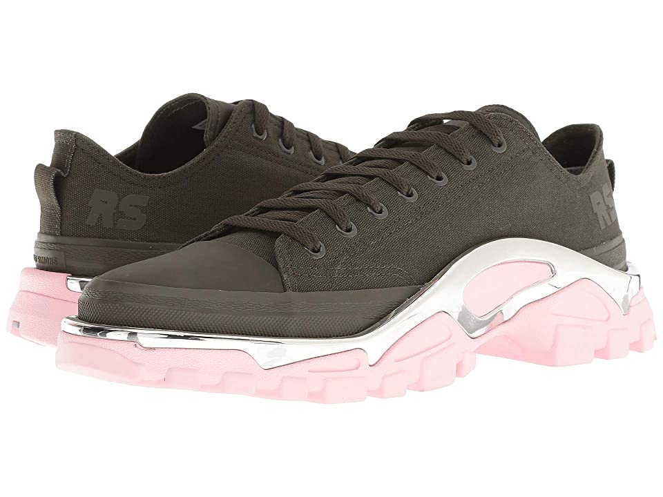 adidas by Raf Simons Raf Simons Detroit Runner (Night Cargo/Night Cargo/Diva) Athletic Shoes