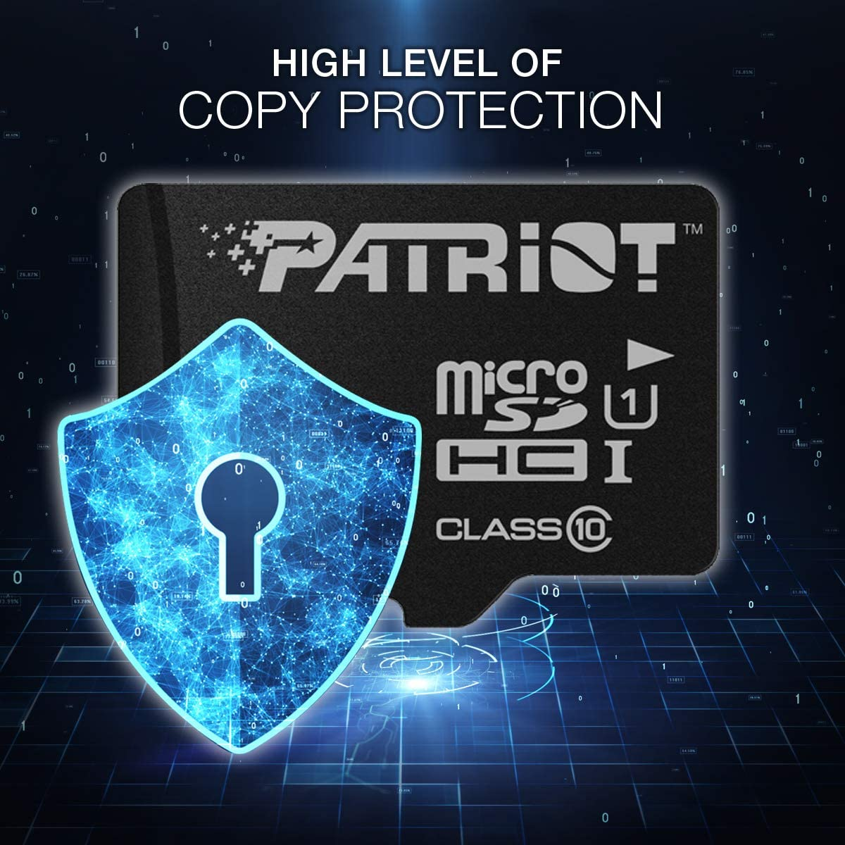 Patriot LX Series Micro SD Flash Memory Card 16GB