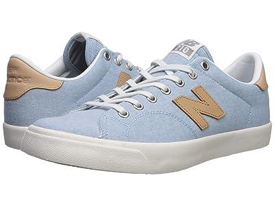 New Balance Numeric AM210 (Blue/Tan) Skate Shoes