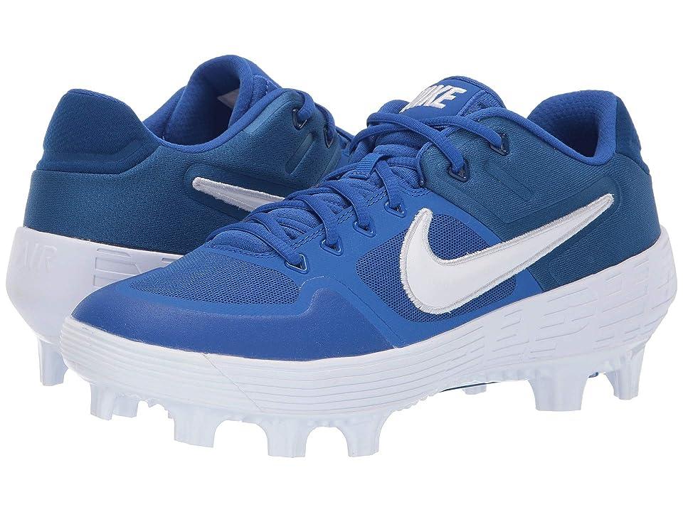 Nike Alpha Huarache Elite 2 Low MCS (Game Royal/White/Gym Blue) Men