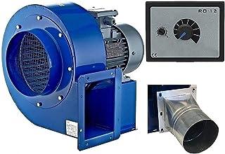 Ventilador OB200M con 500 W regulador de velocidad, Industrial Ventilación Extractor Ventiladores Radiale Radiales Centrifuga