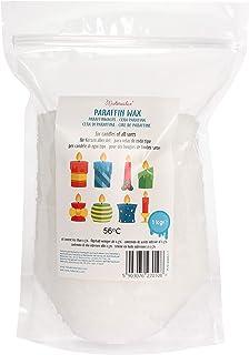 Materialix Cire de Paraffine pour Bougies - diverses Tailles (1kg)