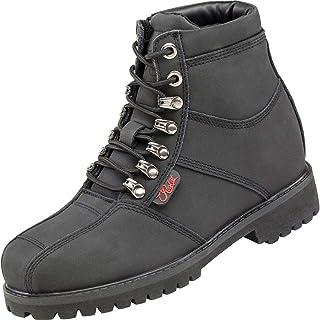 Joe Rocket Rebellion Ladie's Women's Leather Riding Boots (Black, X-Large)