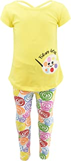 Sponsored Ad - Unique Baby Girls Future Artist Back to School Legging Set