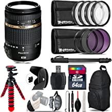 Tamron AF 18-270mm Di II VC PZD AF Lens for Nikon AFB008N-700 + UV-CPL-FLD Filters + Macro Filter Kit + 72