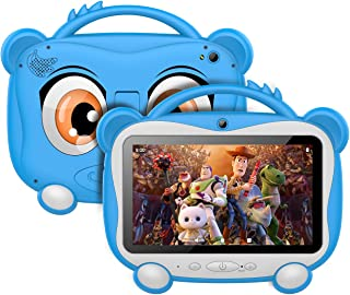 Tablet Para Niños 7 Pulgadas Tablet Infantil Android 10.0 Quad-Core Processor, 16GB ROM 128GB Expansión, HD Pantalla1024*6...