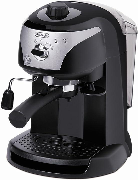 Macchina per caffè espresso con pompa in acciaio inoxidabile de longhi ec221.b 1100w nero EC221.B