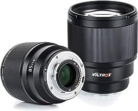 VILTROX 85mm F1.8 STM Auto Focus Standard Prime Lens Medium Telephoto Portrait Lens Large Aperture for Fuji X-Mount Camera X-T3 X-T2 X-T30 X-T20 X-T10 X-T100 X-PRO2 X-E3 X-A20 X-A5