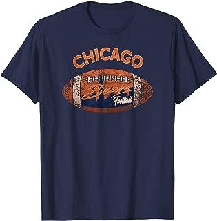 CHICAGO TEAM T-Shirt/POPULAR Bears FOOTBALL T-SHIRT