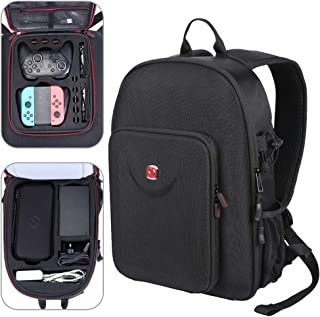 738f9f8cb52a50 Smatree Traveling Backpack Compatible Nintendo Switch-Fit Pro  Controller/Ultimate Edition Pro Controller,