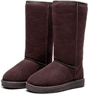 Best Gift Choice UGG Tall Classic Boot- Australian Sheepskin Inner, Water Resistant, Anti-Slip, Super Warm and Comfort